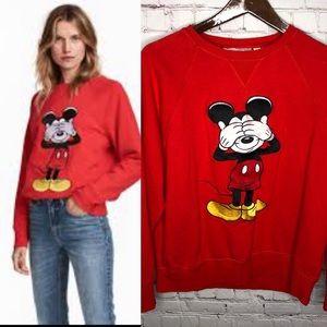 H&M LOGG x Disney Collab Mickey Mouse Sweatshirt